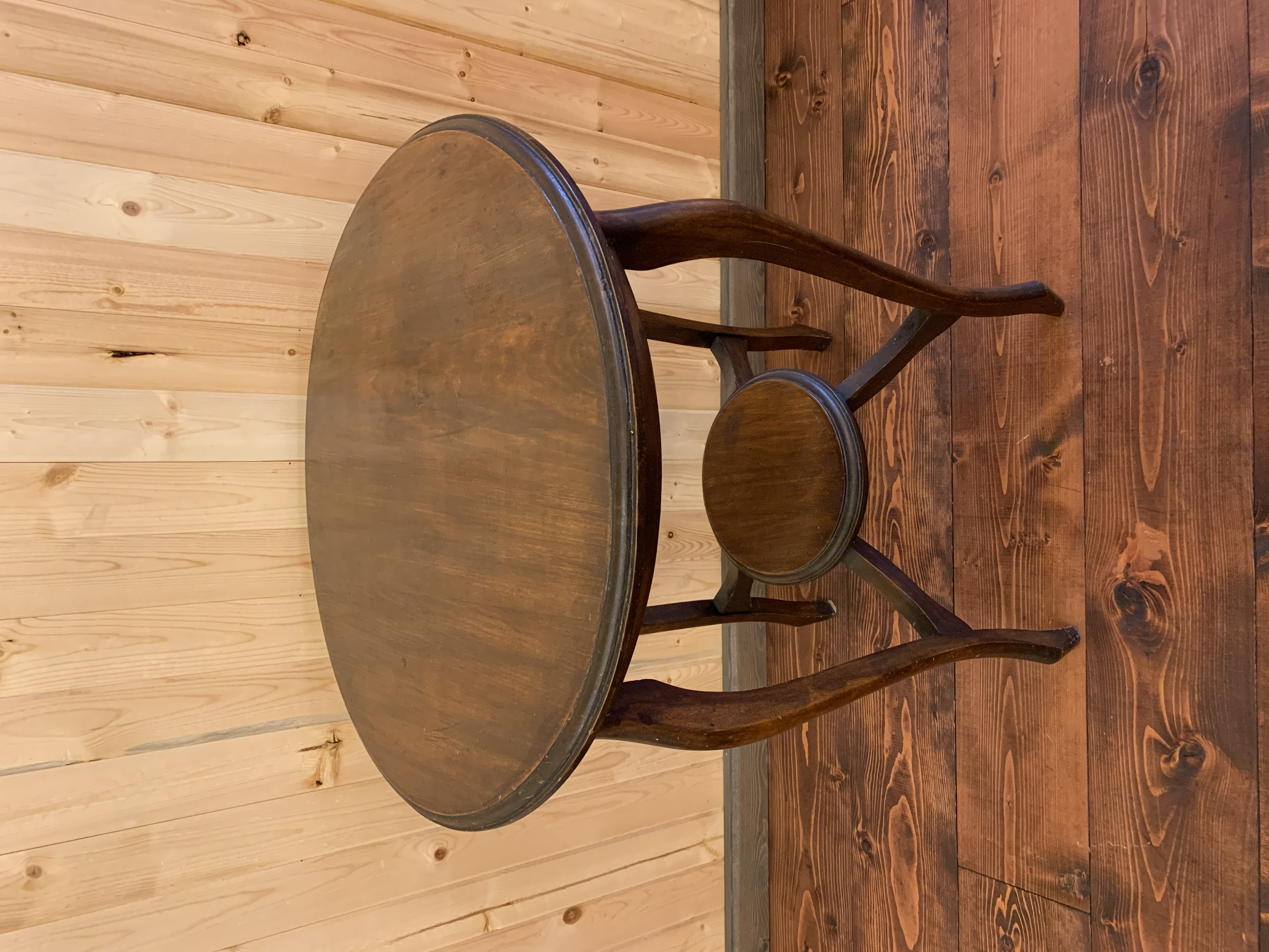 Tall Round Top Table