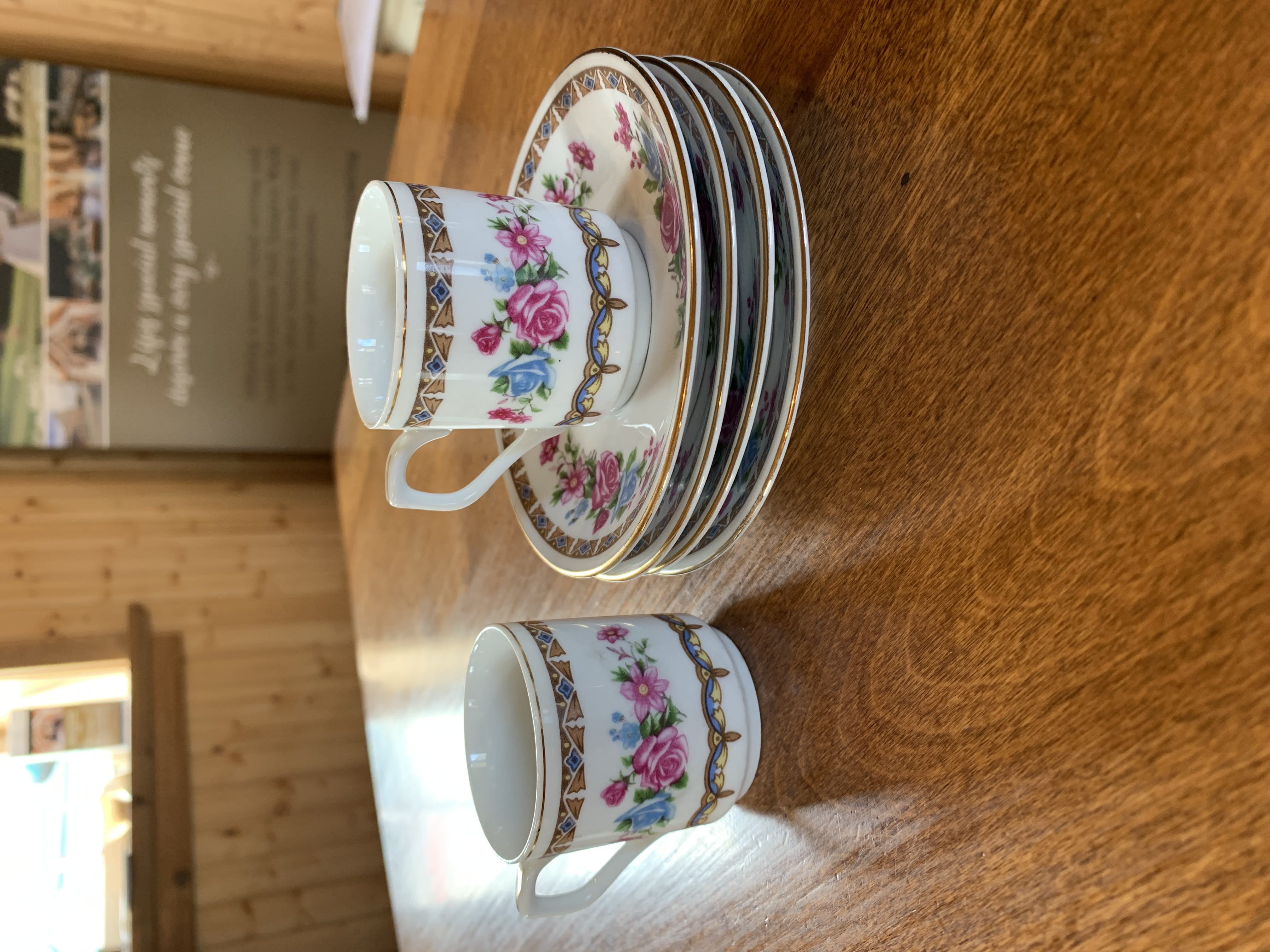 Mini Cup and Saucer Set