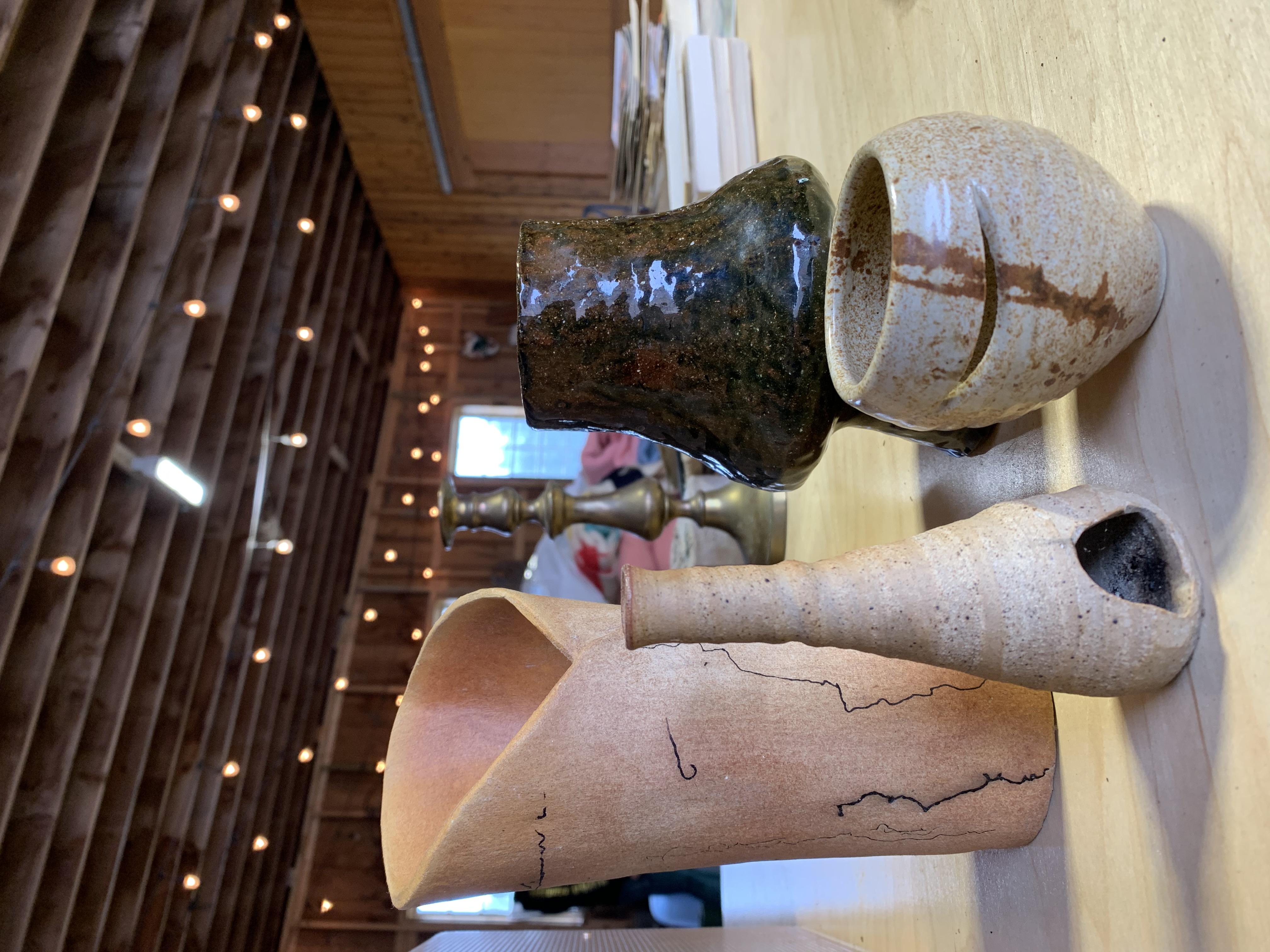Custom Pottery Table Decor