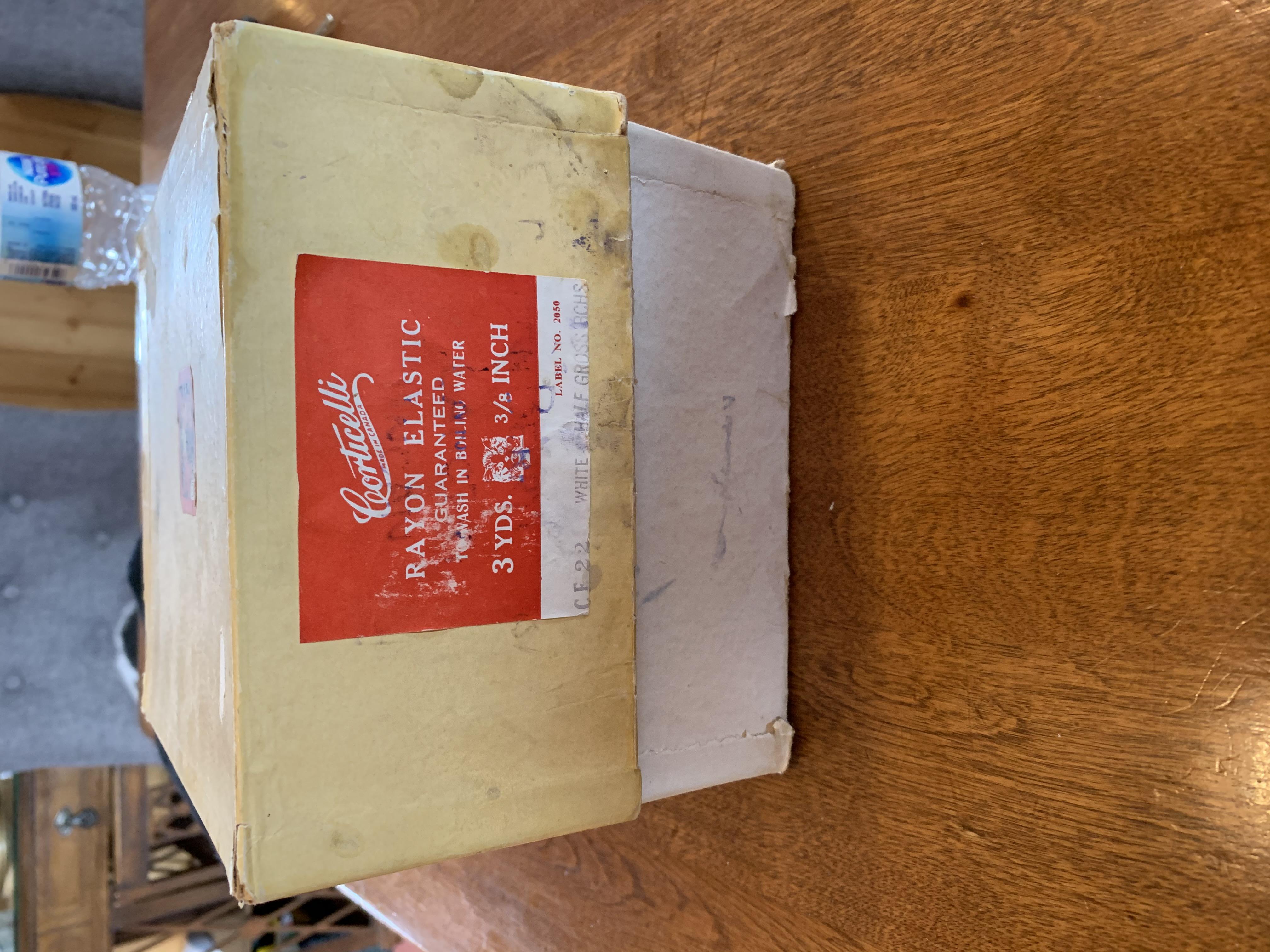 Corticelli Box - Stamps