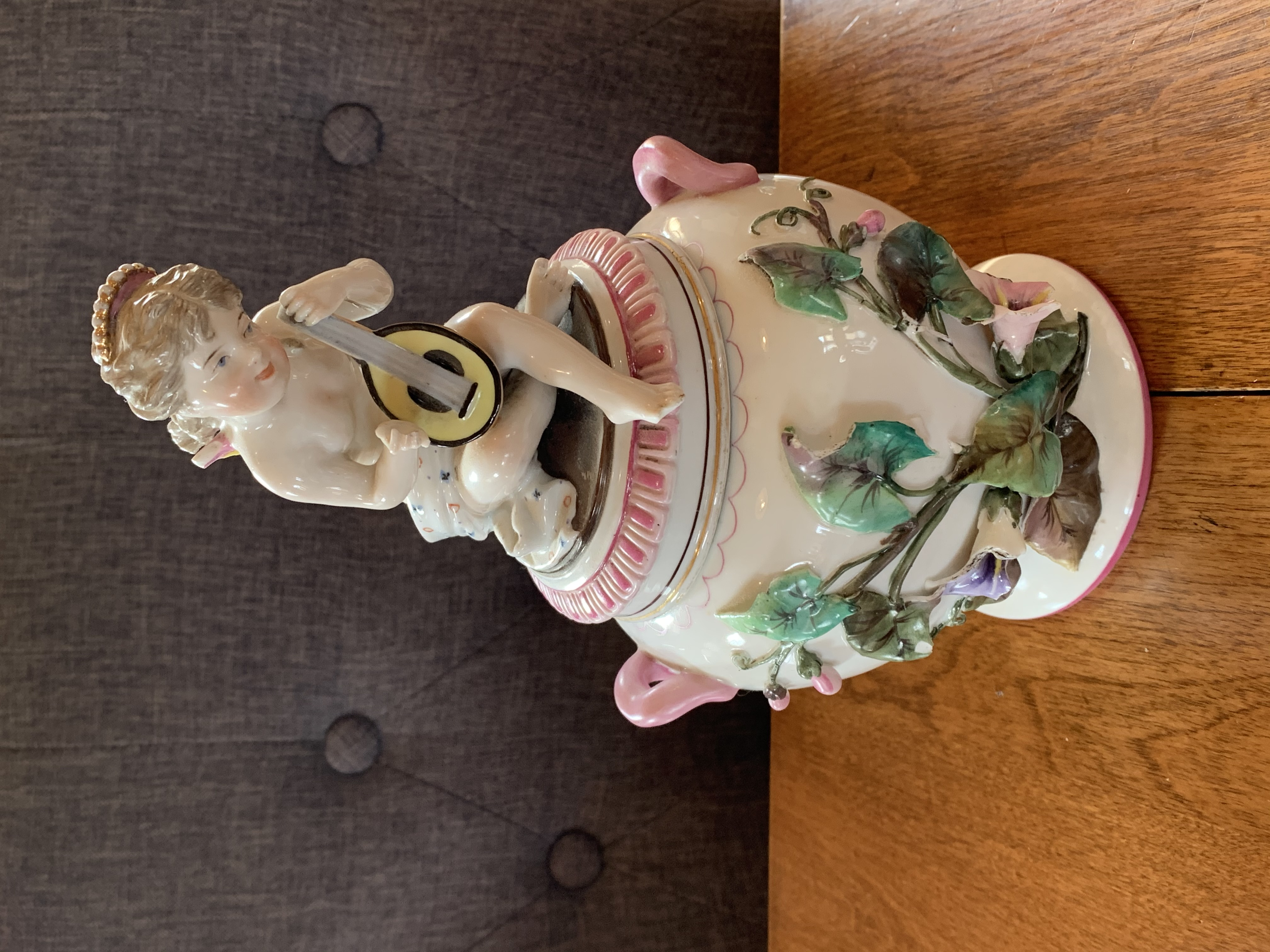 Cherub Candy Jar