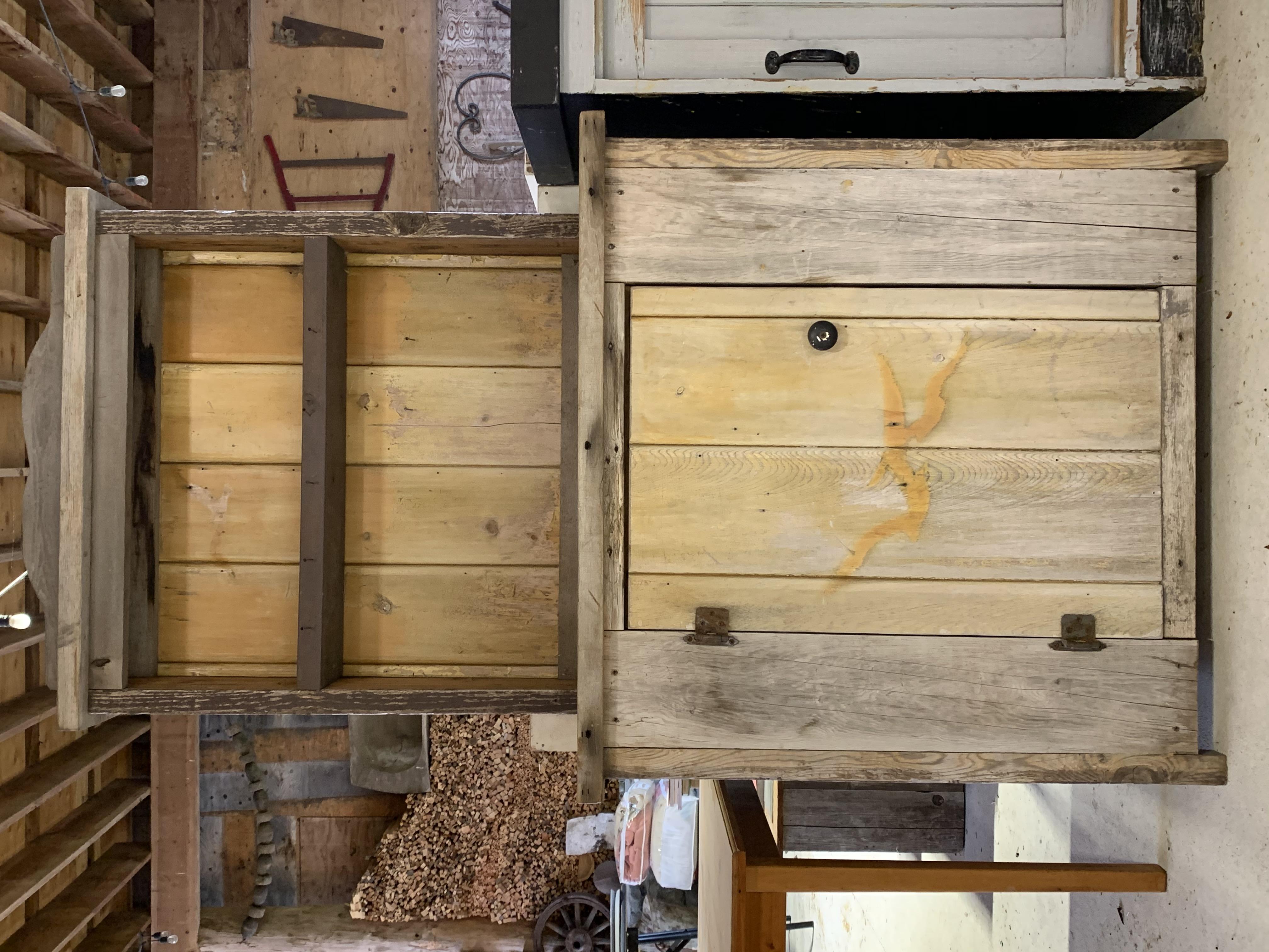Retro Wooden Pantry