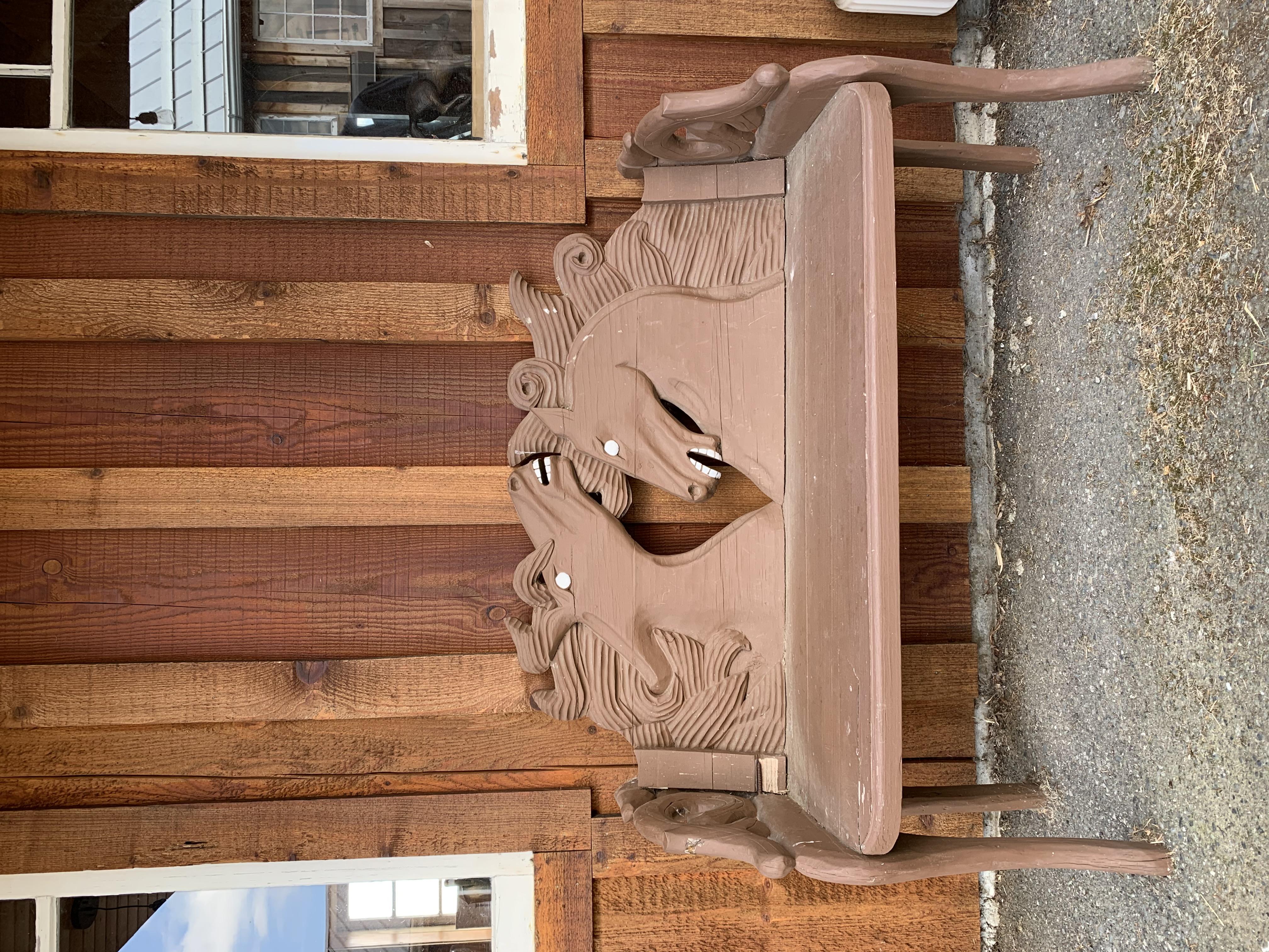Equestrian Bench