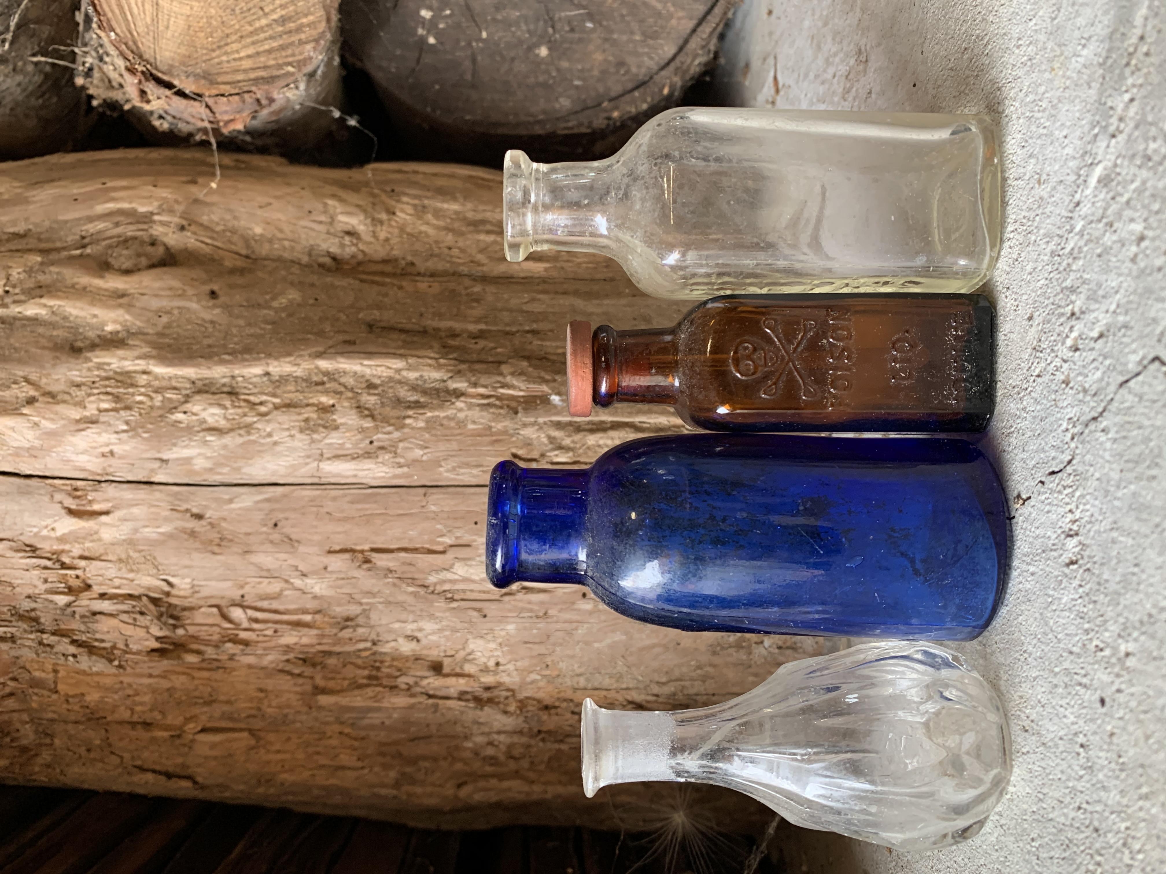 SM Old Glass Bottles